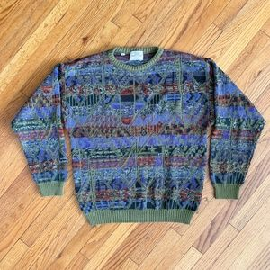 Pronto Uomo Firenze Italian Knit Pull Over Sweater